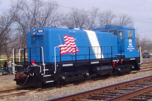 Locomotive for Alcoa