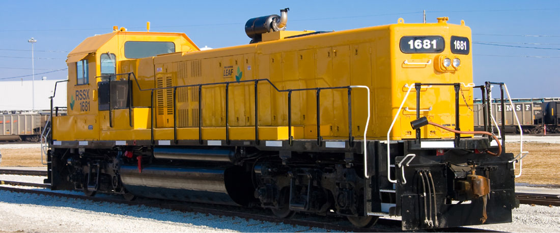 The Railserve LEAF Gen-Set Locomotive with Single Cummins genset